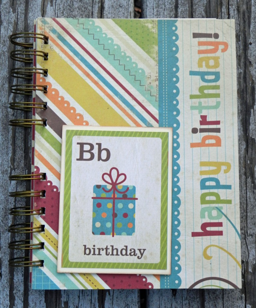 Zutter, scrapbook, juliek, birthday, papercrafts, project